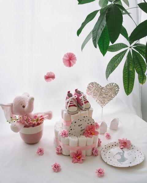 Baby shower torta Zvezdica dekorirana