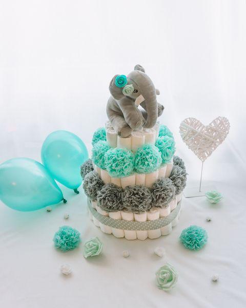 Baby shower torta Rilcek dekorirana