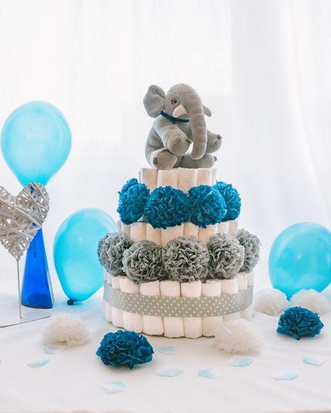 Plenicna torta Uhec dekorirana baby shower