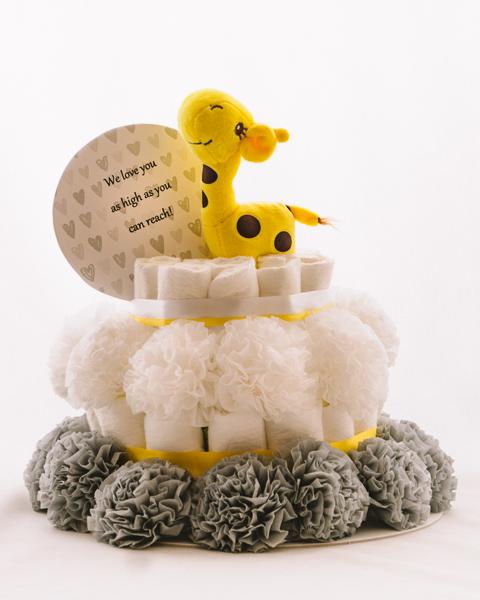 Plenicna torta Rumenko baby shower