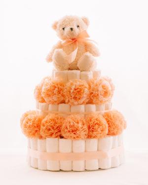 Torta iz plenic Mandi baby shower