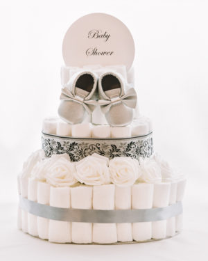 Torta iz plenic Biser baby shower