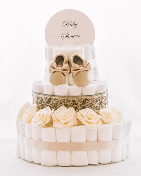Torta iz plenic Zlatica baby shower