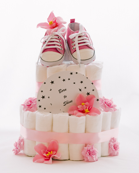 Baby shower torta Zvezdica