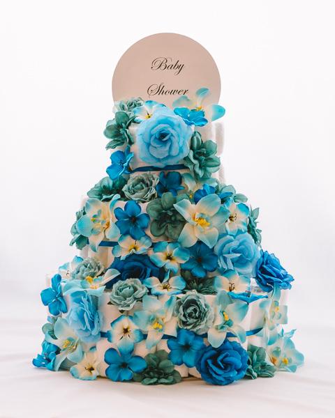 Torta iz plenic Iris baby shower