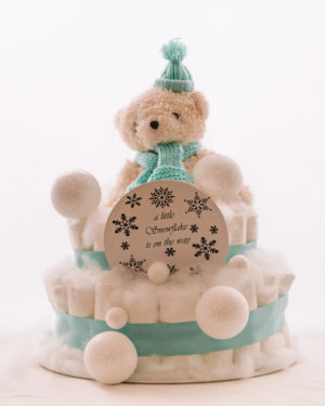 Plenicna torta Snezko baby shower