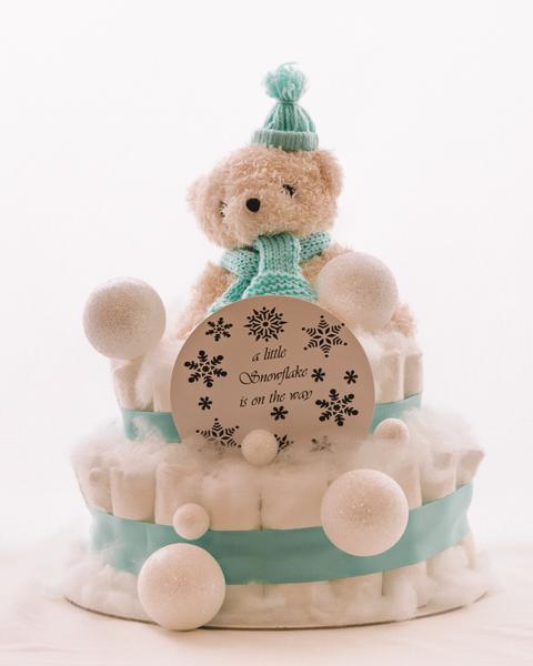 Plenicna torta Snezko baby shower